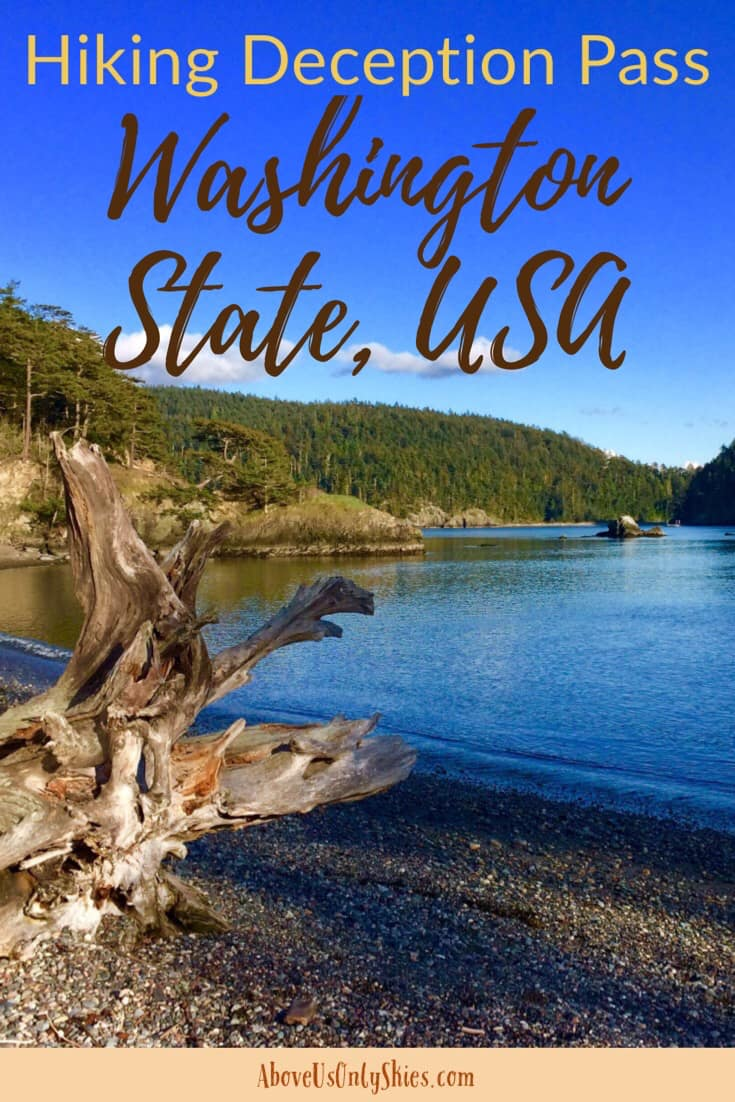 There are plenty of opportunities for hiking near Deception Pass in Washington State, so which ones are best suited to you? Here's our round-up of what's on offer in this beautiful corner of the USA #DeceptionPass #SmallTownUSA #HikingInWA #TravelUSA #HikingWeekend