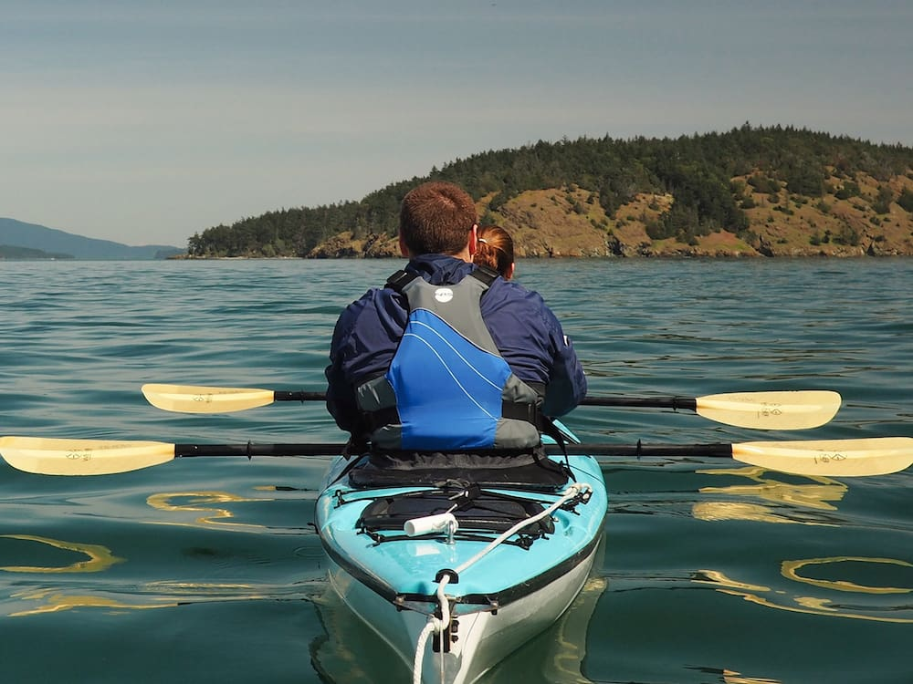 Anacortes Kayak Tour - on the water