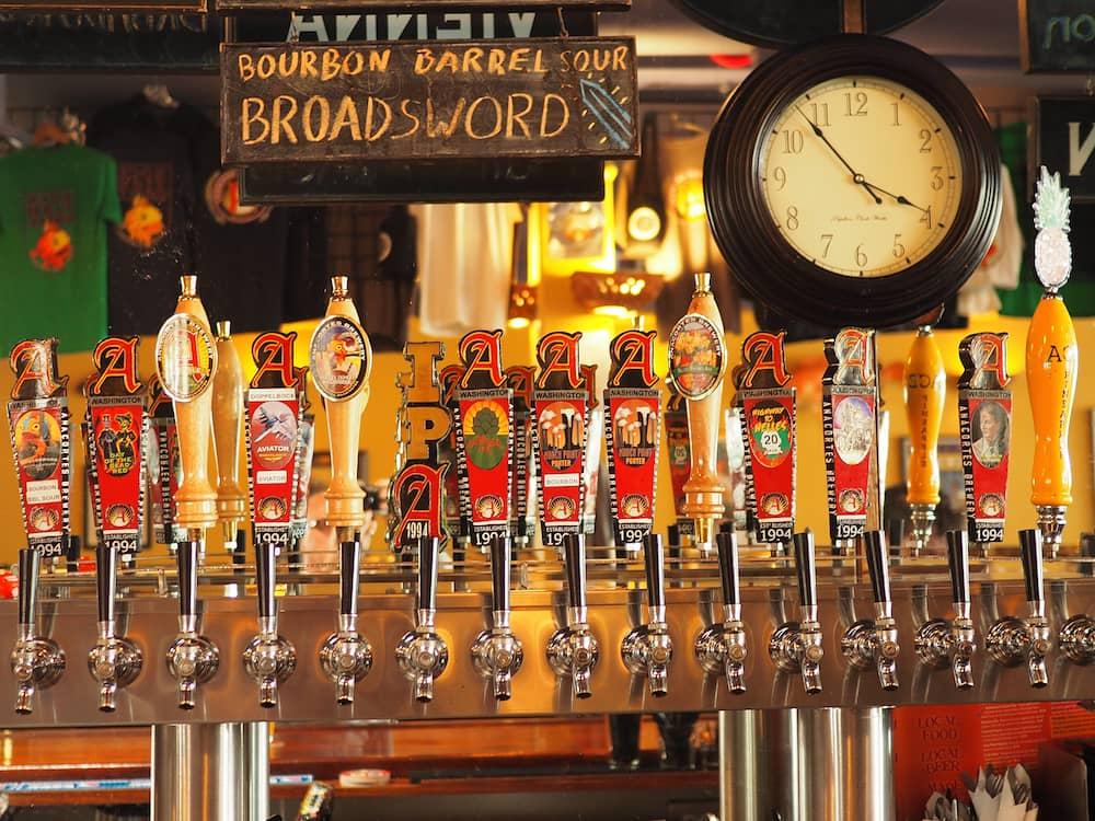 Anacortes Brewery beer range - The Complete Skagit Brewery Guide