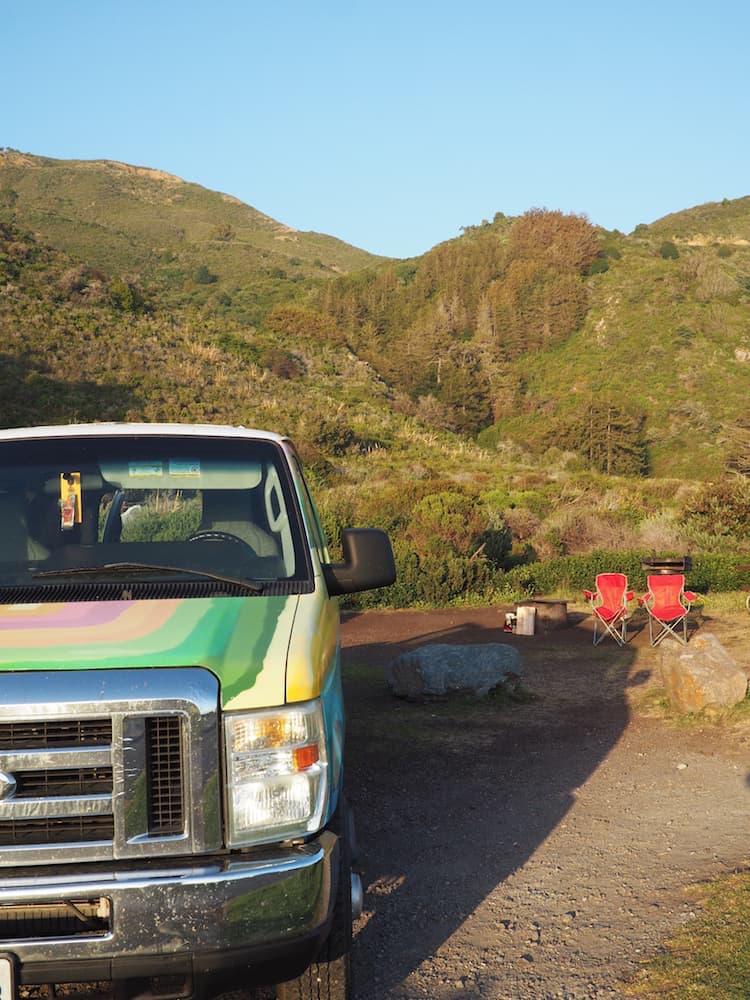 At Kirk Creek Campground, Big Sur