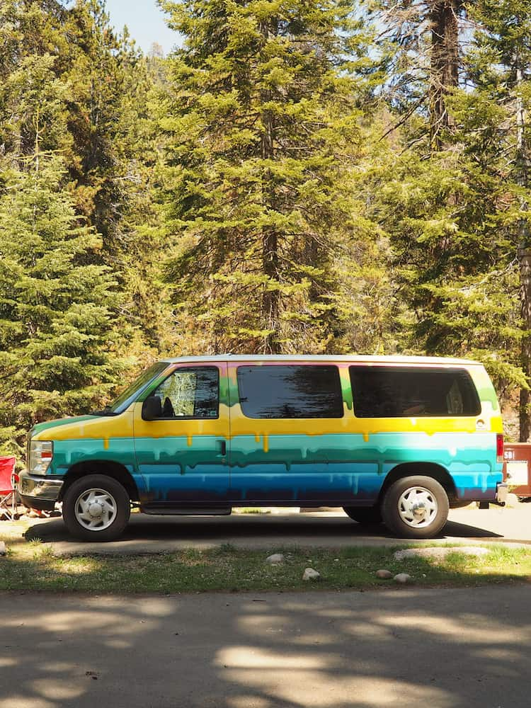 At Lodgepole campground, Sequoia National Park