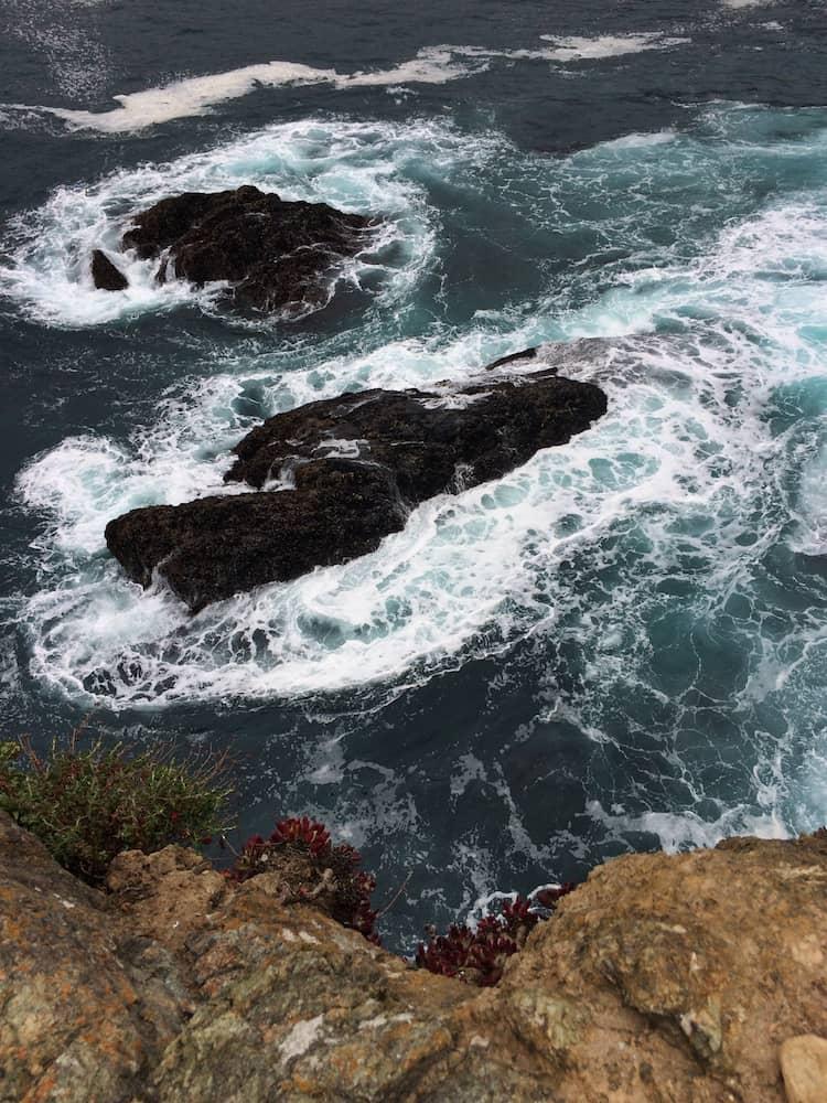 Offshore rock, Big Sur