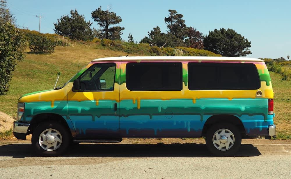 Our Escape camper van