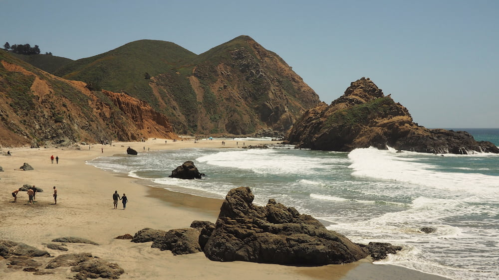 Pfeiffer Beach, Big Sur