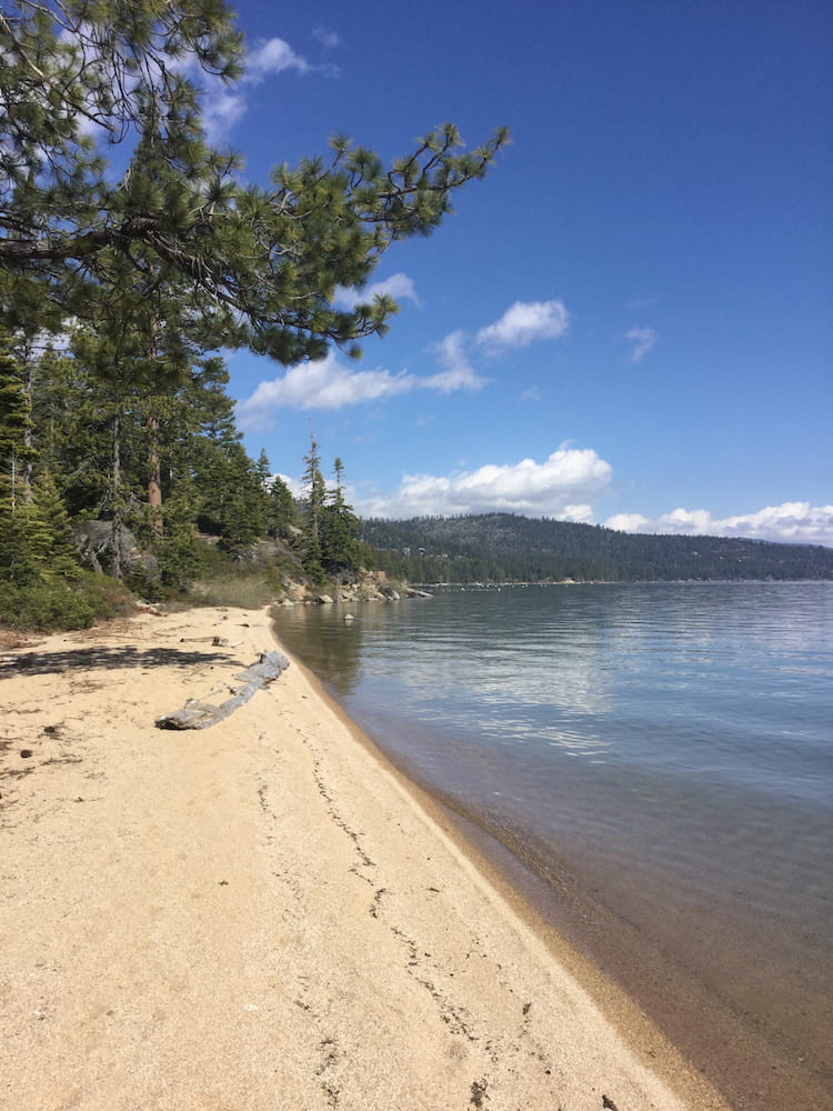 Rubicon Trail, DL Bliss State Park, Lake Tahoe