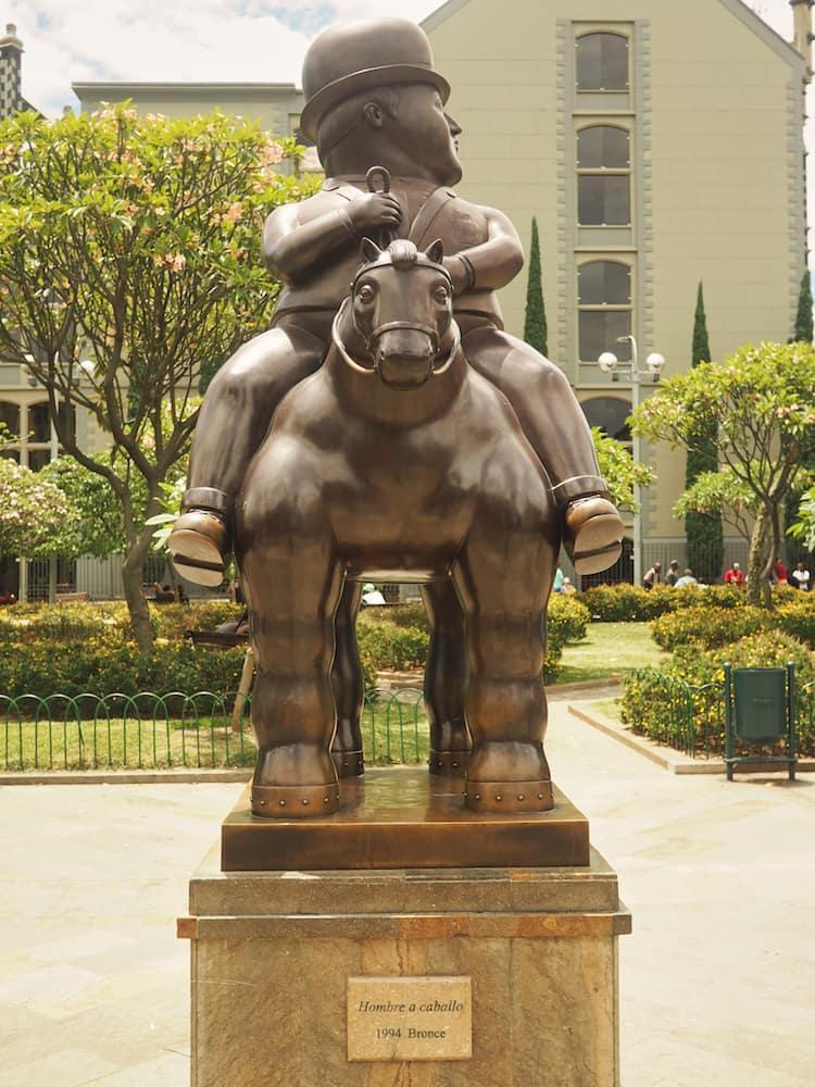 Walking Tour - Botero sculpture, Medellin