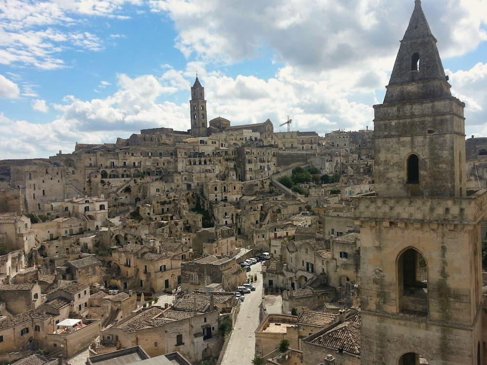 Long view of Matera