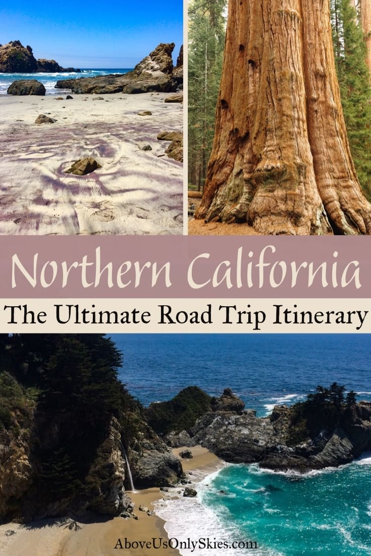 There's only one way to explore Northern California and that's on a road trip in a camper van for two - find out how in our epic 15-day itinerary #californiatravel #californiacamping #yosemite #yosemitenationalpark #yosemitecamping #usaroadtrip #californiaroadtrip #sequoianationalpark #kingscanyon #bigsur #highway1 #campervan #camperlife #northerncalifornia #roadtripideas #springbreak