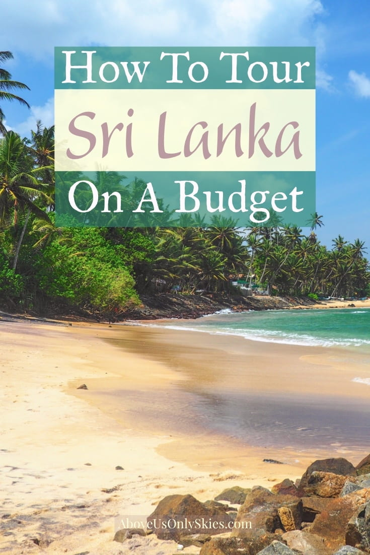 Thinking of planning a trip to Sri Lanka on a budget? Here's how to immerse yourself in Sri Lankan culture without breaking the bank #srilanka #srilankatravel #srilankatraveltips #srilankatravelspots #srilankaphotography #sigiriya #elephantlove #asiatravel #itinerary #honeymoon #honeymoondestinations #colombo #lanka