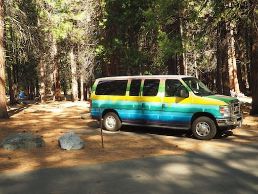 Sentinel Campground, Kings Canyon National Park