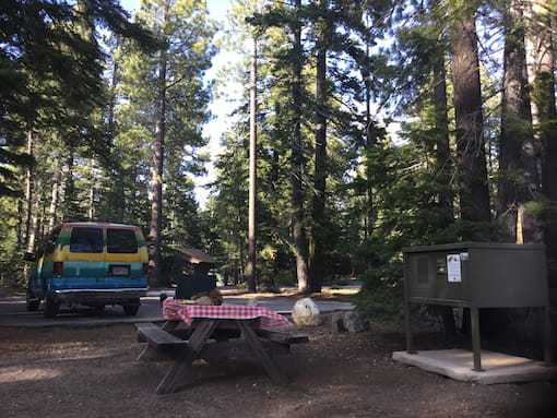 Sugar Pine Point State Park Campground, Lake Tahoe, CA