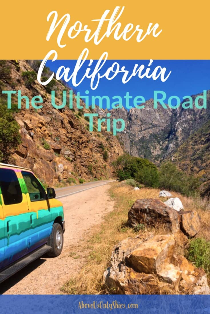There's only one way to explore Northern California in our opinion, and that's on a road trip in a camper van for two - find out how in our seriously epic 15-day itinerary from San Francisco and back #RoadTripItinerary #USARoadTrip #NationalParksUSA #CampingUSA #CaliforniaRoadTrip