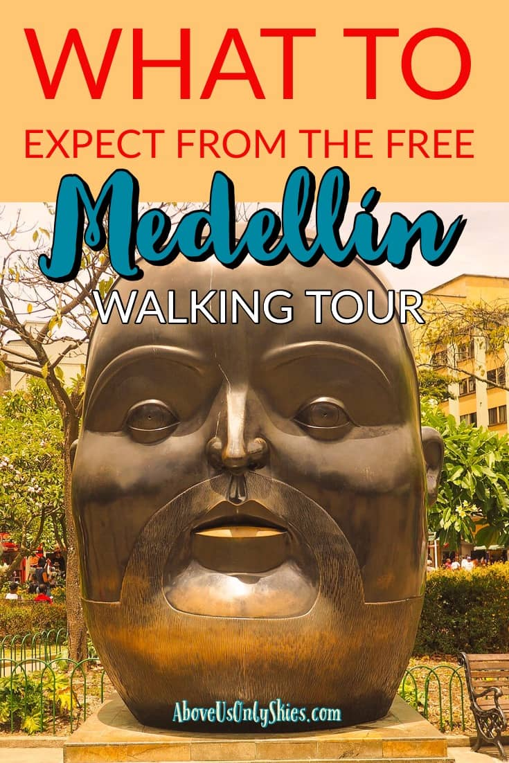 The free Medellin walking tour offered by Real City Tours is a great introduction to Colombia's second city - here's what you can expect from it... #Medellin #WalkingTour #ColombiaTravel