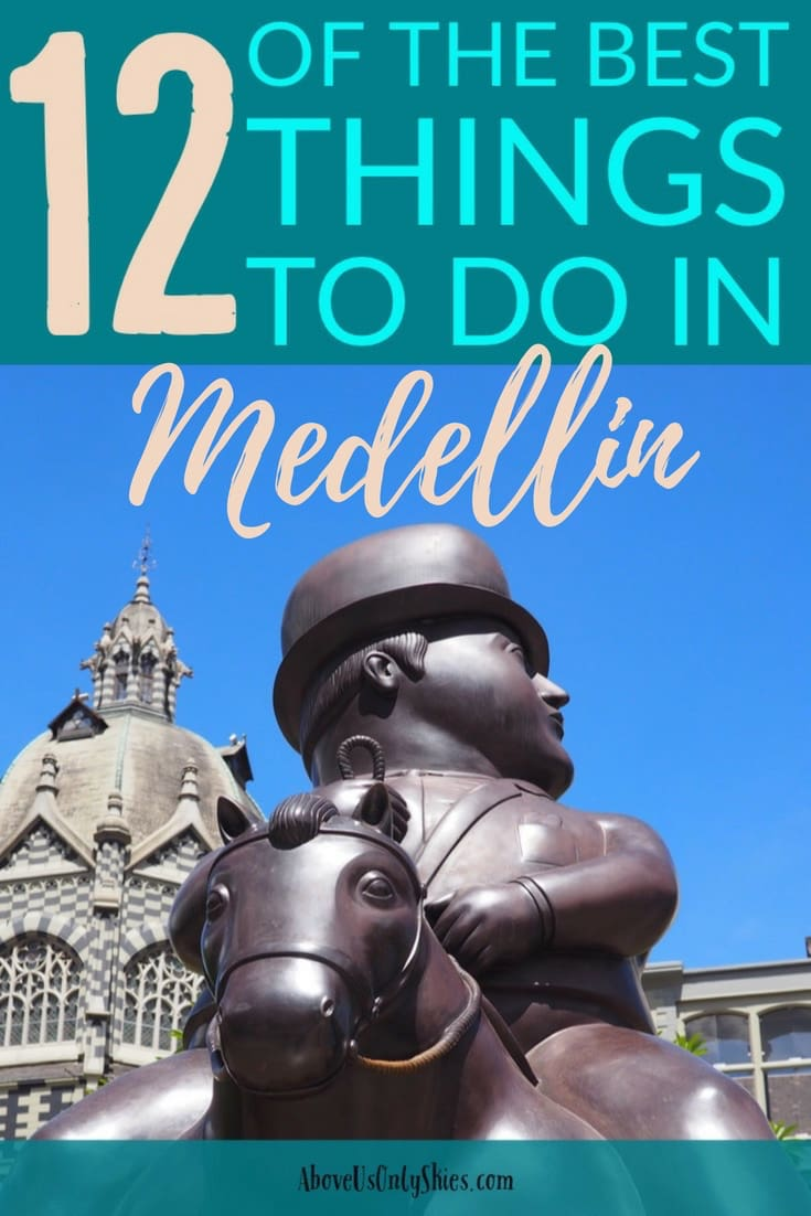 Here are our 12 best things to do in Medellin, Colombia. What to see, what food to eat, things to do, it's an art lovers dream. A hub for expats, travellers and digital nomads, our recommendations are based on our month long stay in the city. There's also suggestions for day trips to its surrounding pretty pueblos. A million miles away from its history of cartels #ColombiaTravel #MedellinTravel #MedellinItinerary #Medellin