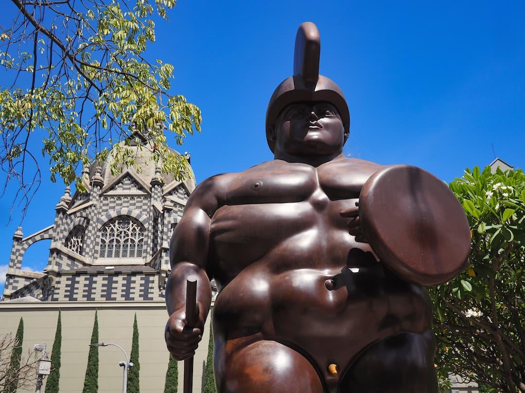 Medellin itinerary - Botero sculpture
