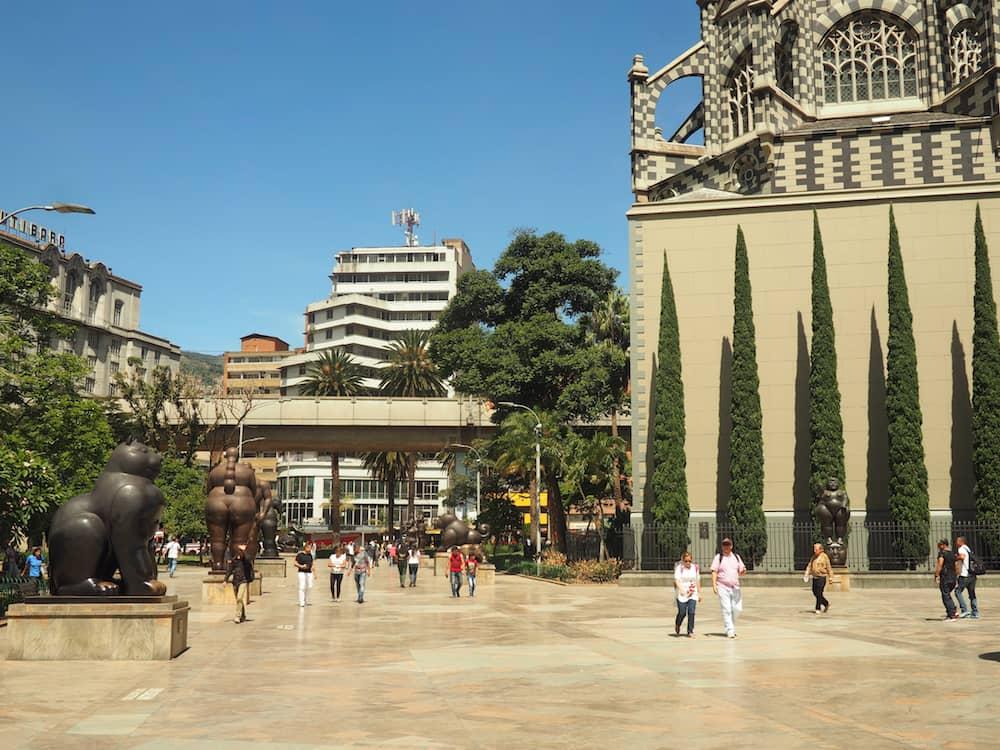 Botero Plaza - Medellin itinerary