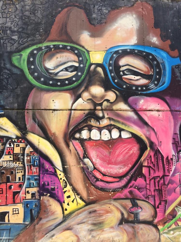 Comuna 13, Medellin - street art 8