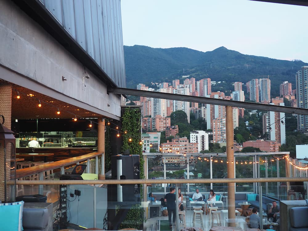 Envy Rooftop Bar, Park Lleras.
