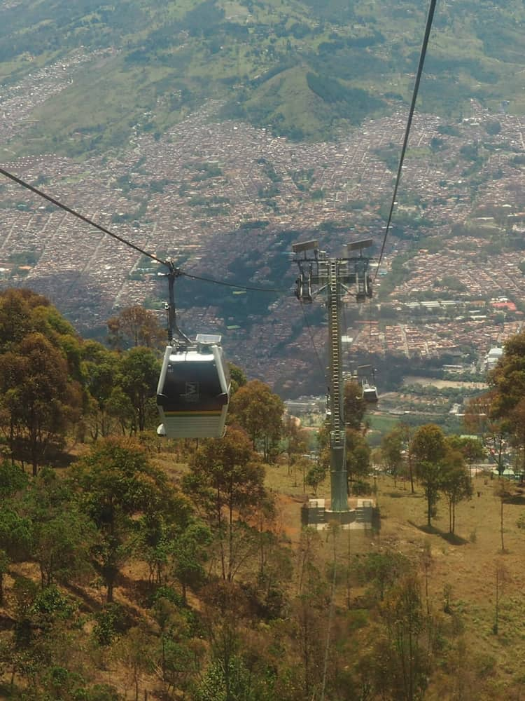 Metro cable car, Medellin