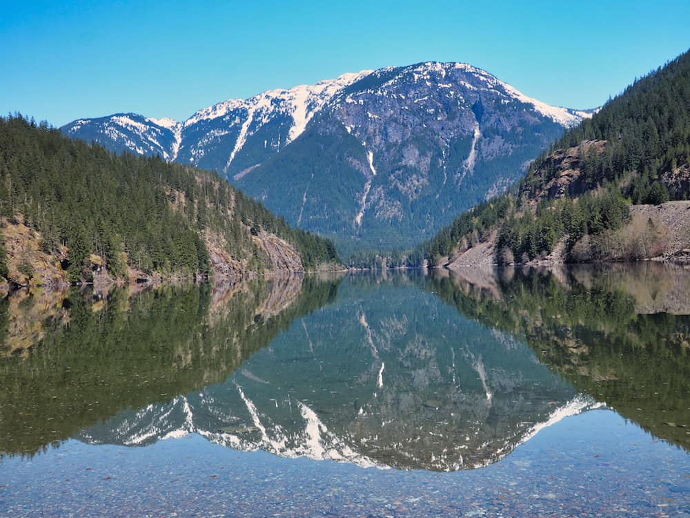 Reflections on Diablo Lake