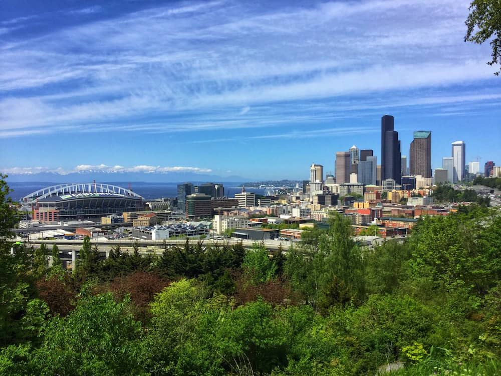 The Seattle Skyline from Beacon Hill - Washington State