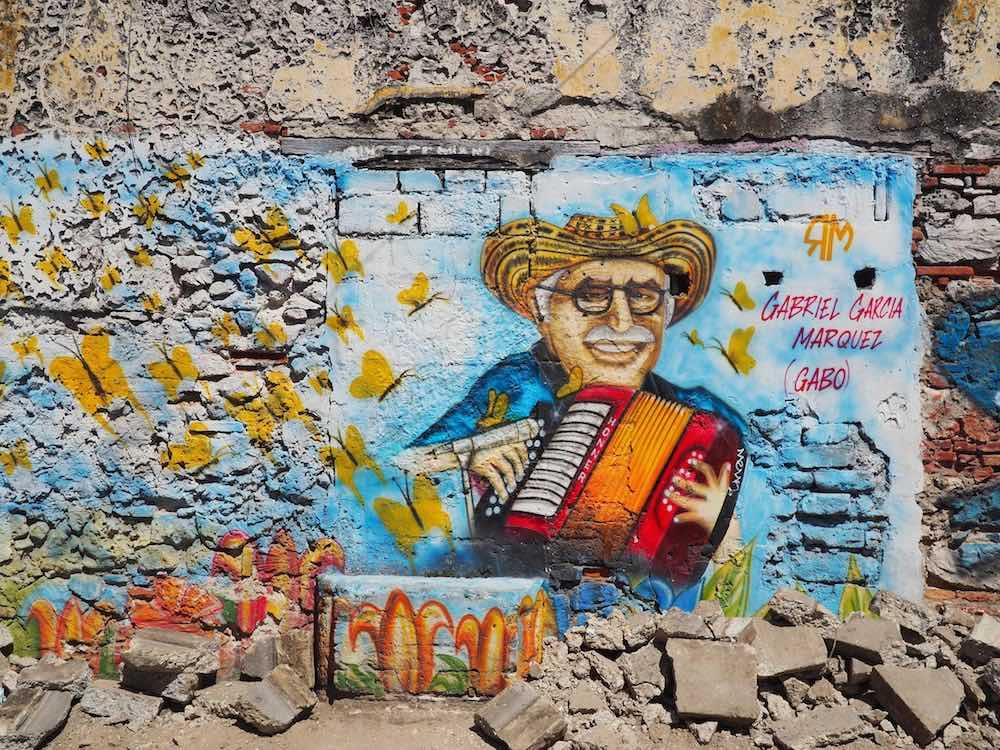Gabriel Garcia Marquez street art