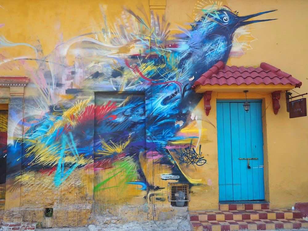 Getsemani street art- Maria Mulata