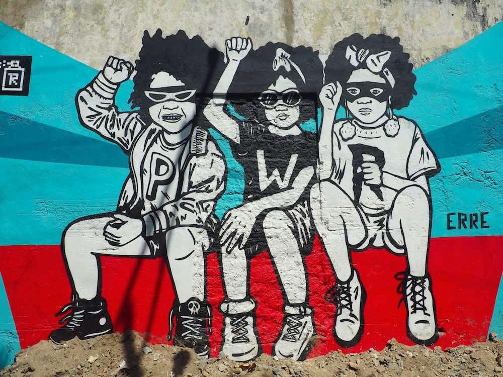 Getsemani street art - urban kids