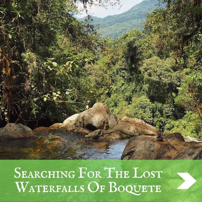COLOMBIA - Boquete waterfalls