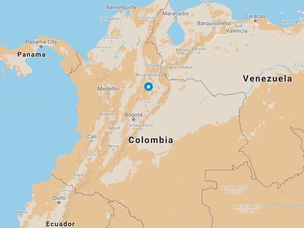 Location of Barichara