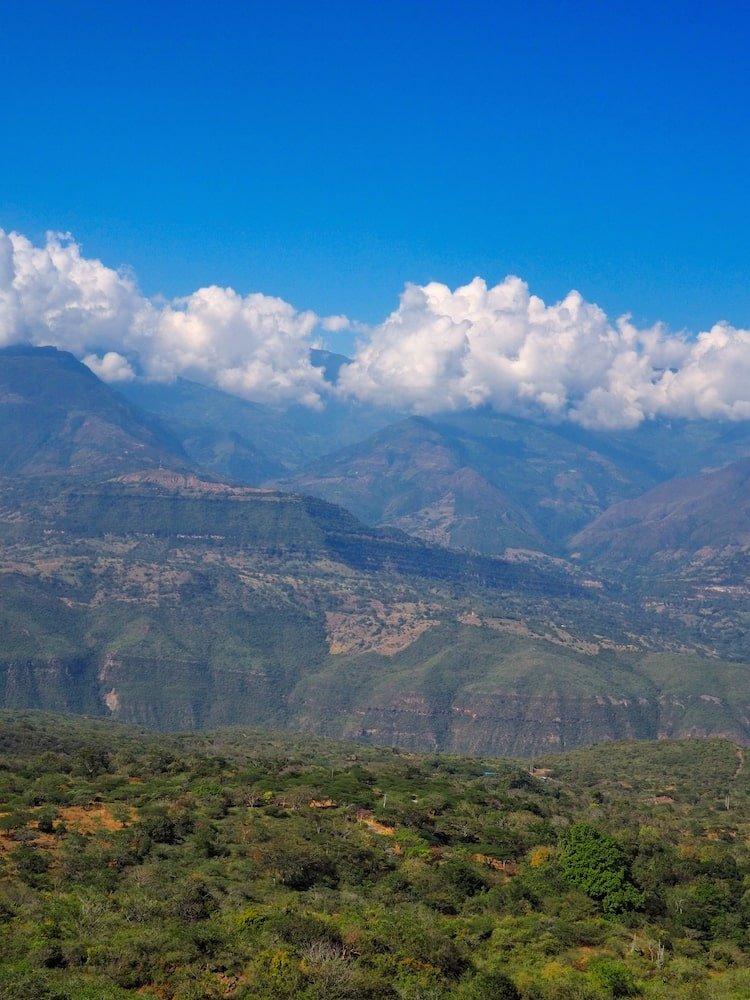 El Camino Real - view of the canyon