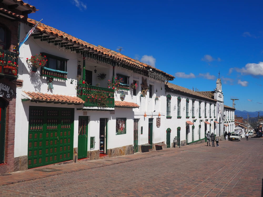 Mongui's main plaza