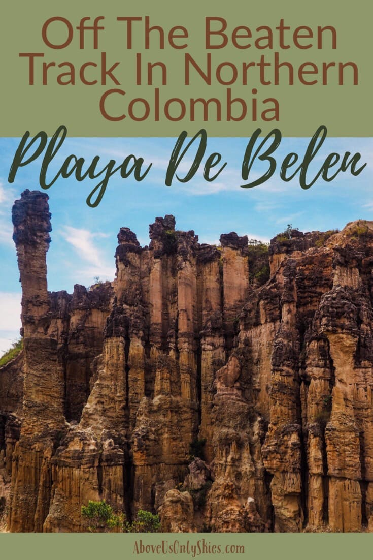 Playa De Belen in Northern Colombia should definitely be on your list of places to visit. Check out our guide on how to get there and what to see and do in this idyllic pueblo in Norte de Santander #offthebeatentrack #northerncolombia #colombiaitinerary #nature #placestovisit