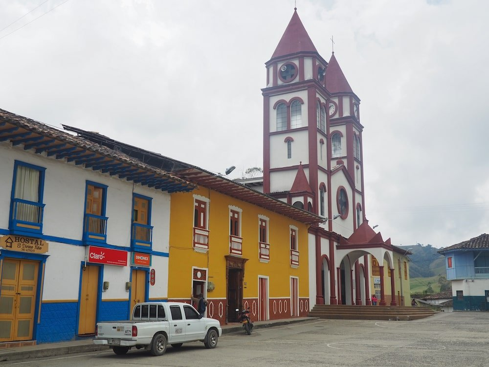 The church in San Felix