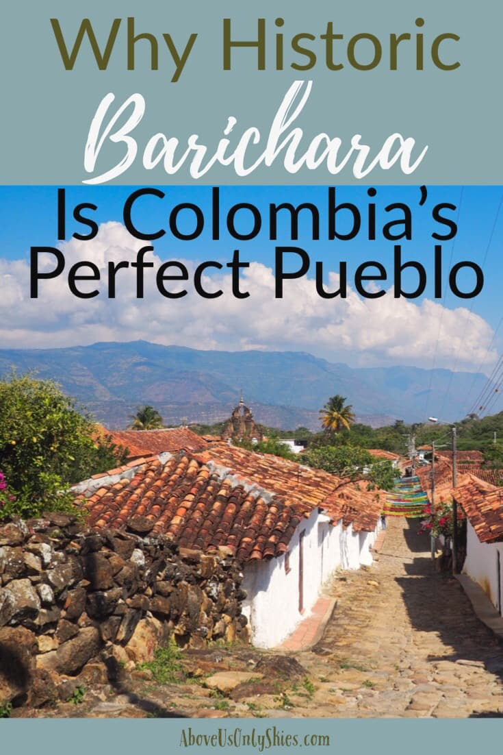 Perched on the edge of a canyon in the fabulous Santander region, Barichara is a cobblestoned gem - and quite possibly our favourite place in Colombia #pueblospatrimonios #heritagetowns #santandercolombia #colombiatravel #offthebeatentrack