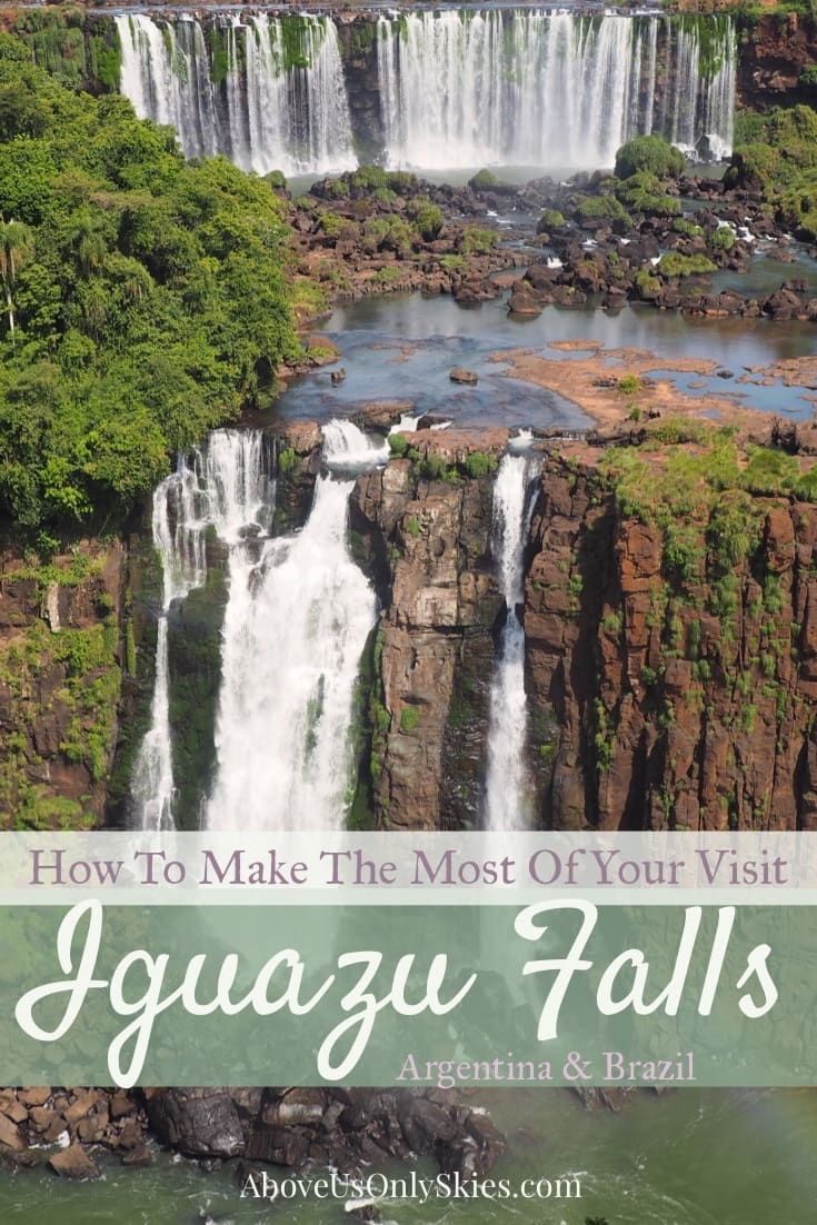 If you're heading to Argentina then make sure you put Iguazu Falls on your bucket list. In our guide we show you how to get the best out of your visit at one of the world's greatest natural sights on both the Argentine and Brazilian side of the Falls. #iguazufalls #southamericatrip #argentinaitinerary #naturalwonder #southamericanbucketlist