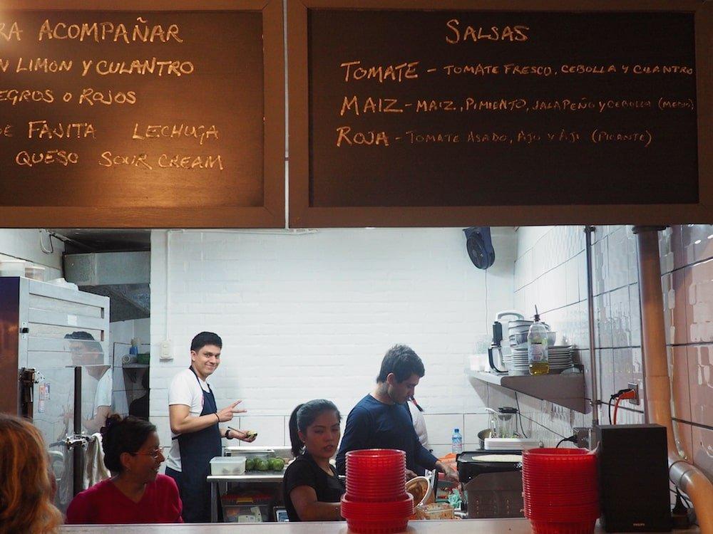 The Burrito Bar kitchen