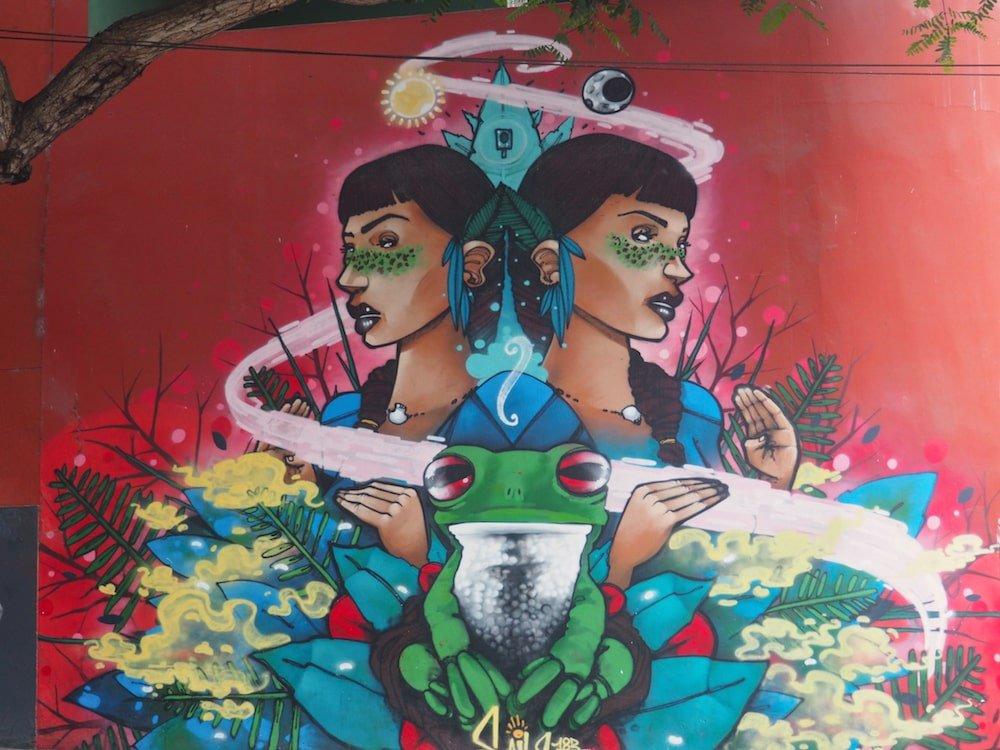 Street art - Barranco, Lima