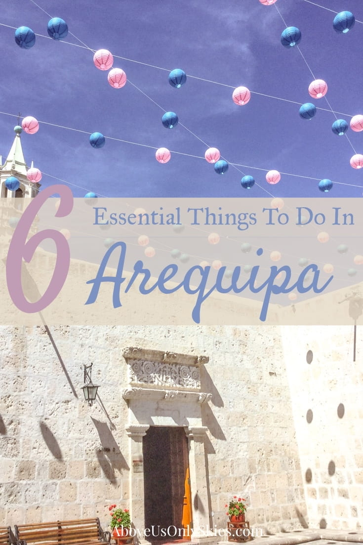 Arequipa, the Peruvian city that's renowned for its exquisite colonial-era architecture and close proximity to world-class outdoor adventures. Not to mention gourmet food. And if you're wondering what not to miss, it's all here. #arequipa #perutravel #arequipaperutravel #arequipahotography #perufood #peru #thingstodoarequipa #gringotrail #southamericabackpacking