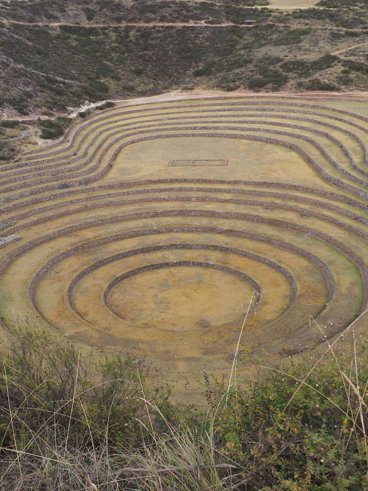Circular terraces at Moray