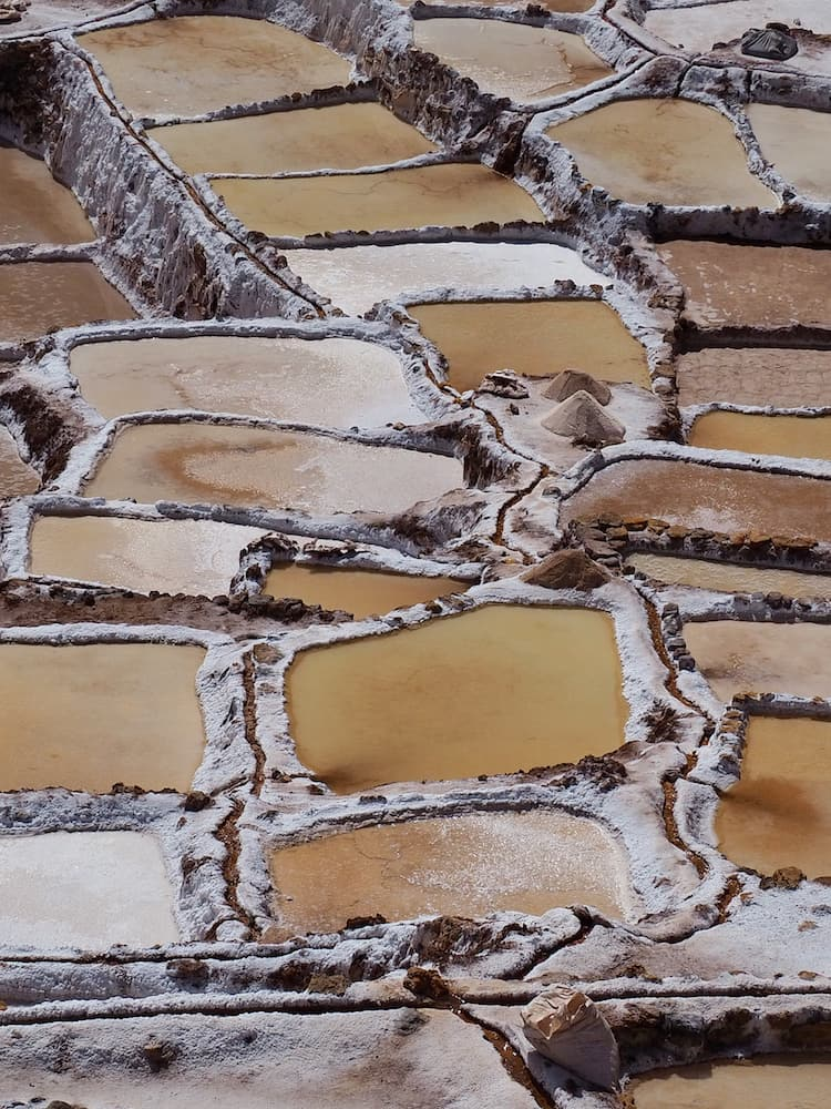 Salt pools at Las Salineras de Maras