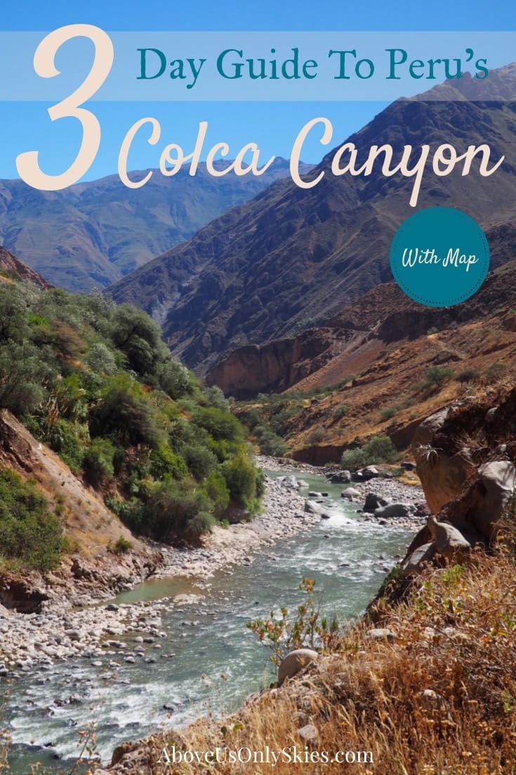 Hiking the mighty Colca Canyon in Peru over three days is an unforgettable experience and can be done without booking an organised tour - here's how