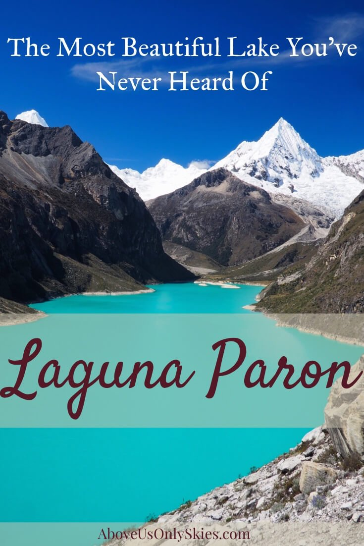 Tucked away high up in Northern Peru's Cordillera Blanca, Laguna Paron is an unspoilt feast for the eyes – and is just a three-hour bus ride from Huaraz