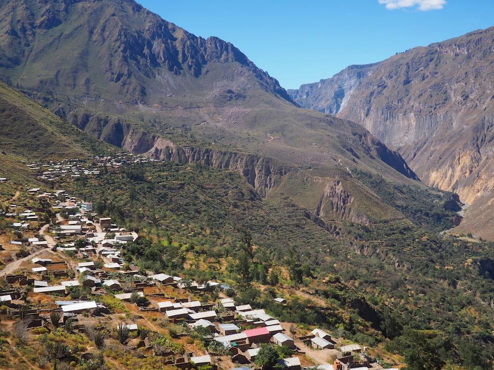 View of Malata and Cosninhua