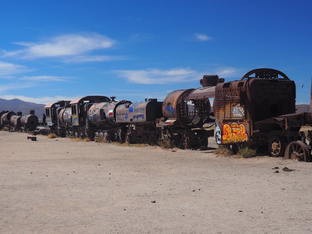 Uyuni Train Cemetery