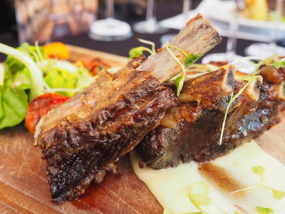 Lunch at El Enemigo's restaurant, Mendoza