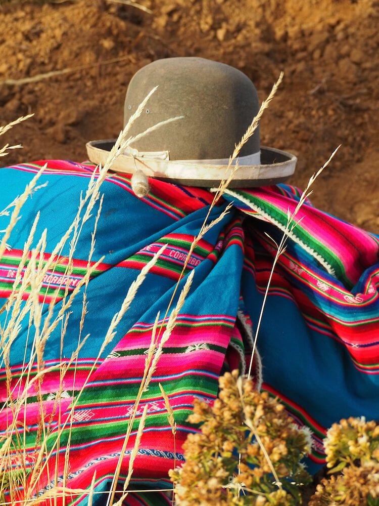 Cholita traditional dress