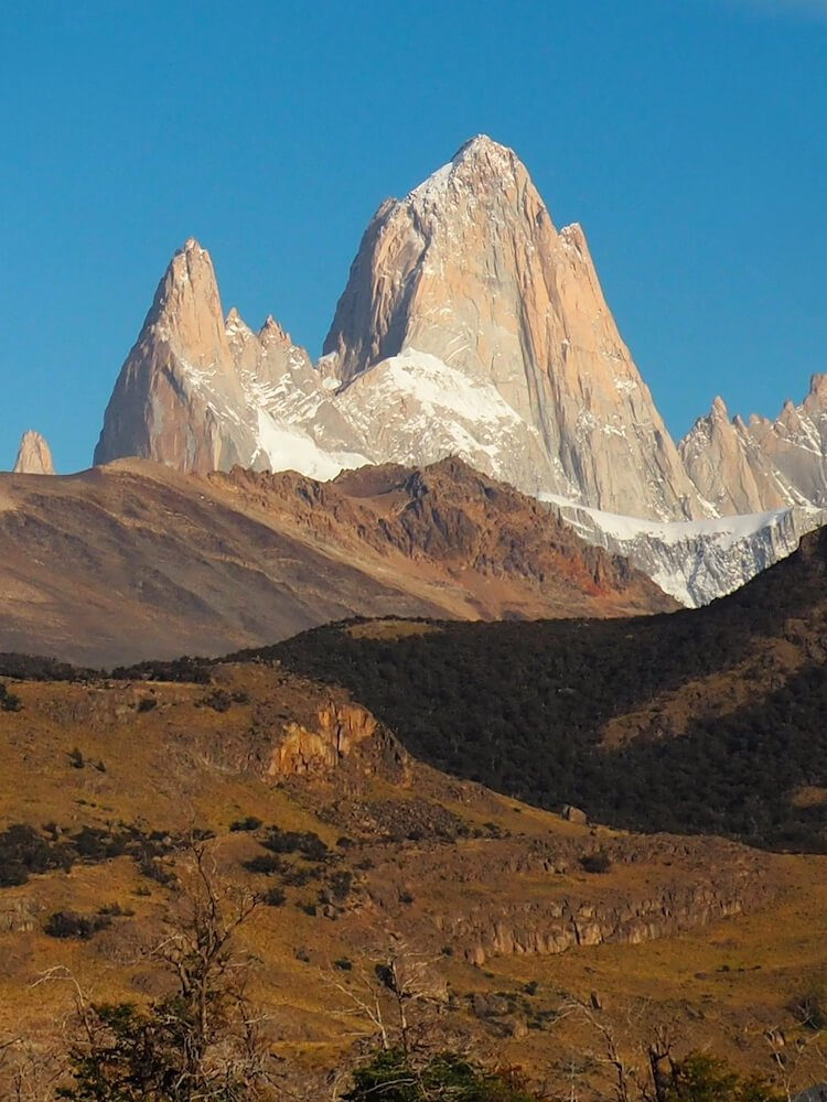 Mount Fitz Roy in the early morning