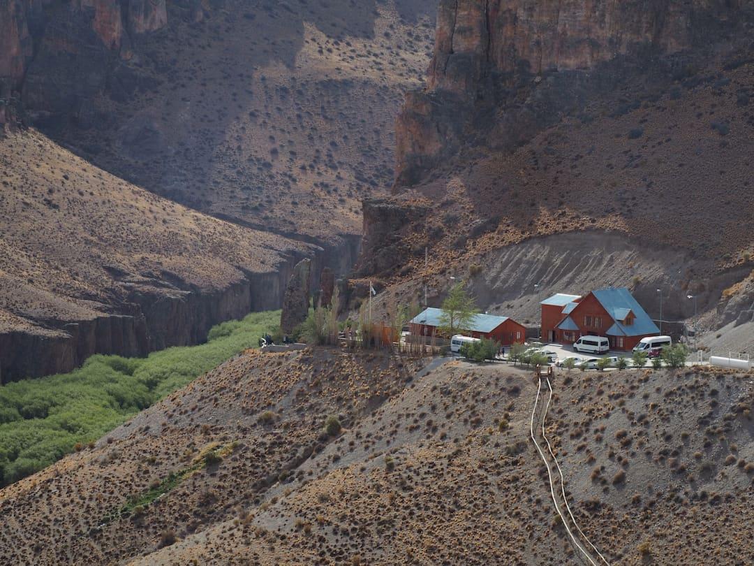 Cueva de la Manos entrance