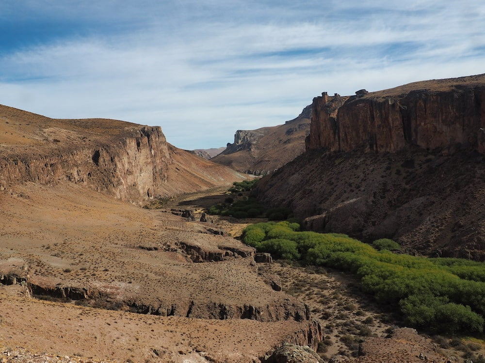 Rio Pinturas Canyon